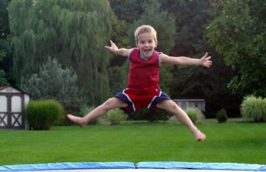 Trampoline Rules for Kids