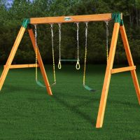 Gorilla Playsets Standing Swing Set