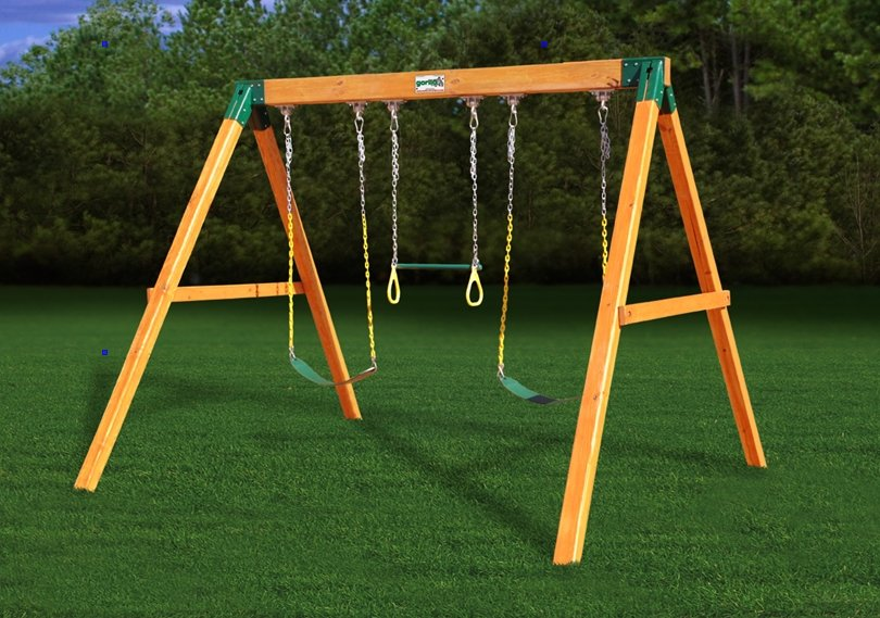 Small Swing Sets = Fun in your Backyard | Cool Outdoor Toys