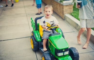 John Deere riding toys