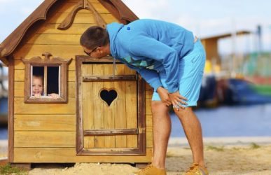 Buying wooden playhouses