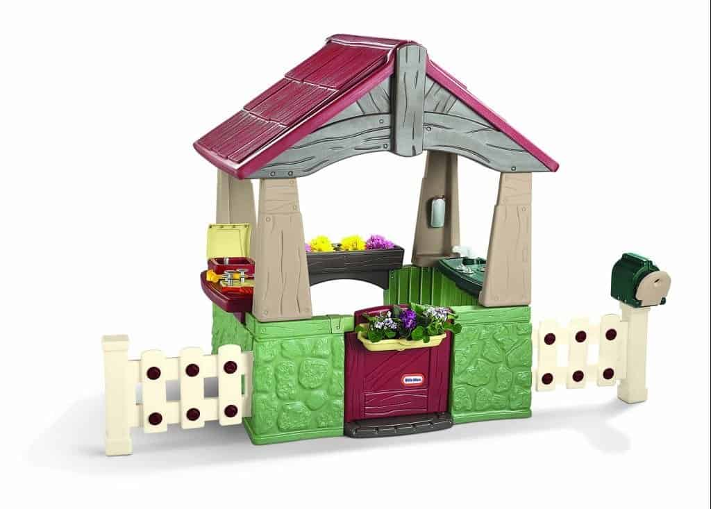 Little Tikes House Replacement Parts : Wooden or plastic playhouses cool outdoor toys