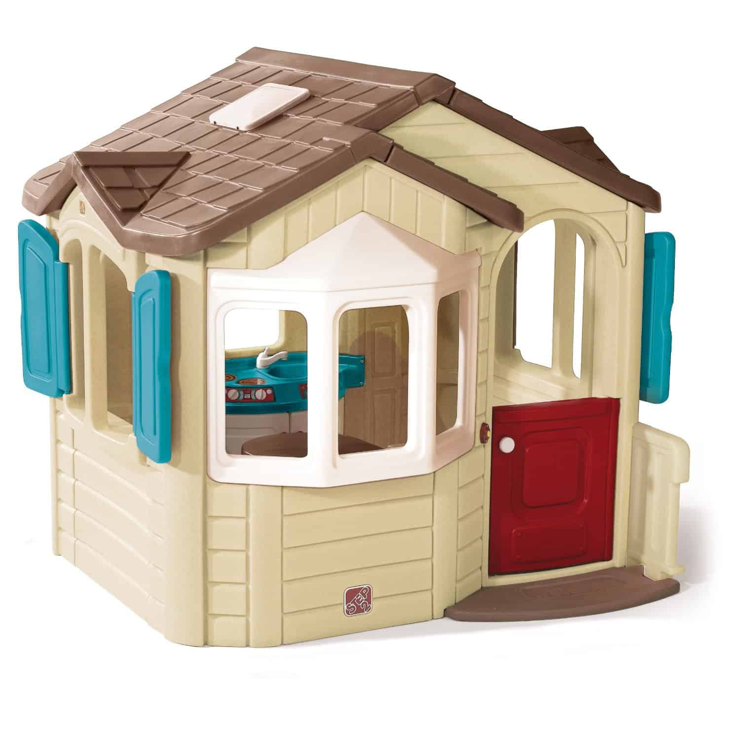 plastic playhouses cool outdoor toys. Black Bedroom Furniture Sets. Home Design Ideas